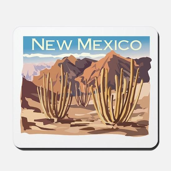New Mexico Desert Mousepad