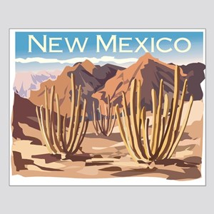 New Mexico Desert Small Poster