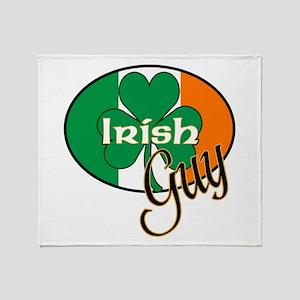 Irish Guy Throw Blanket