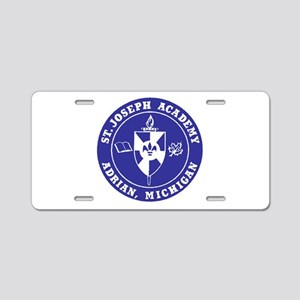 Blue Shield Logo Aluminum License Plate