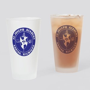 Blue Shield Logo Drinking Glass