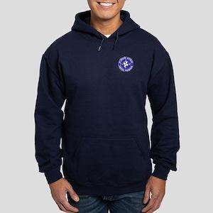 Blue Shield Logo Hoodie (dark)