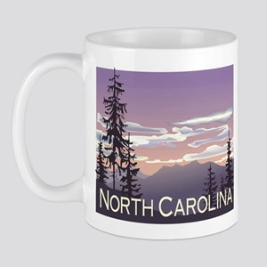 North Carolina Mountains Mug