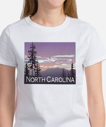 North Carolina Mountains Women's T-Shirt