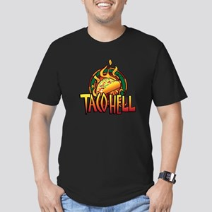 Taco Hell Men's Fitted T-Shirt (dark)