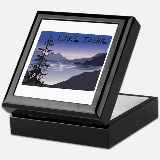 Lake Tahoe Keepsake Box
