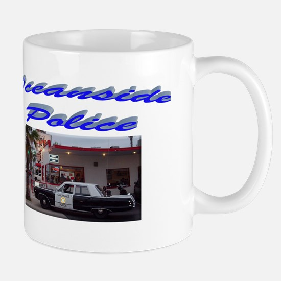 Oceanside Police Car Mug