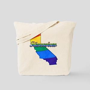 Riverview, California. Gay Pride Tote Bag