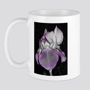 Dramatic Nighttime Iris Mug