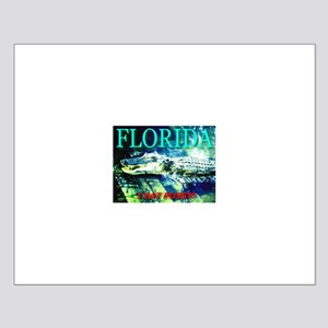 Florida Alligator I Eat Pussy Small Poster