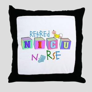 NICU Baby Throw Pillow