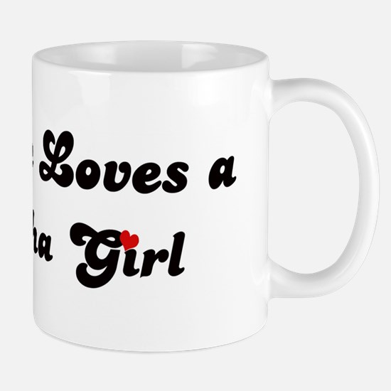 Loves Si Racha Girl Mug