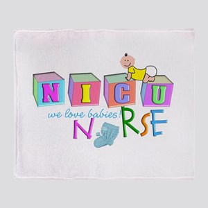 NICU Baby Throw Blanket