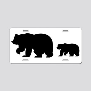 Fun Icon Aluminum License Plate