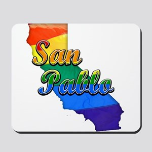 San Pablo, California. Gay Pride Mousepad