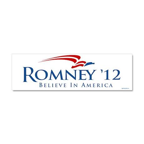 Romney 2012 Car Magnet 10 x 3
