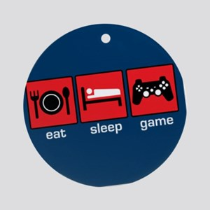 Gamers Ornament (Round)