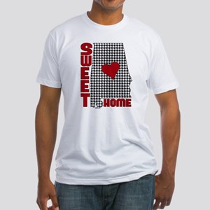 Sweet Home Bama Fitted T-Shirt