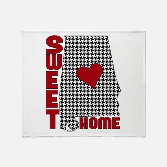 Sweet Home Bama Throw Blanket