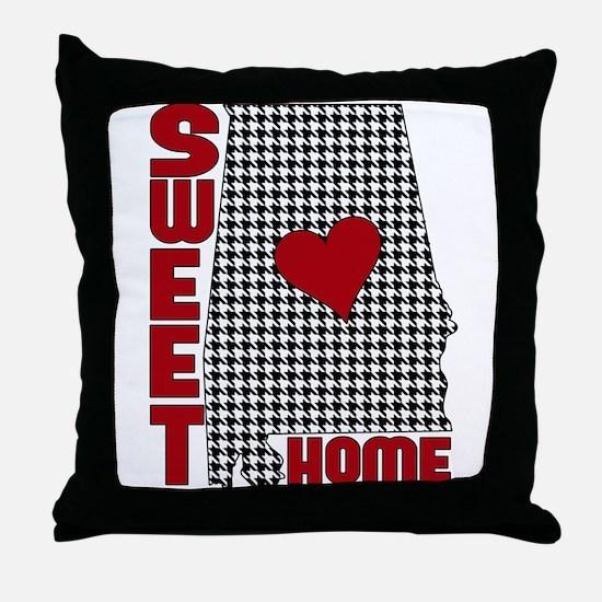 Sweet Home Bama Throw Pillow