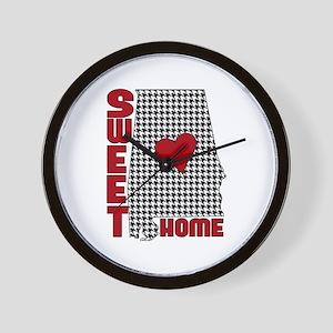 Sweet Home Bama Wall Clock
