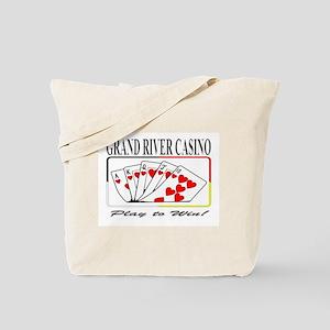 Grand River Casino - Royal Fl Tote Bag