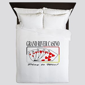 Grand River Casino - Royal Fl Queen Duvet