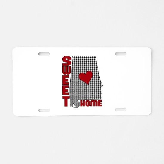 Sweet Home Bama Aluminum License Plate