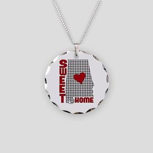 Sweet Home Bama Necklace Circle Charm