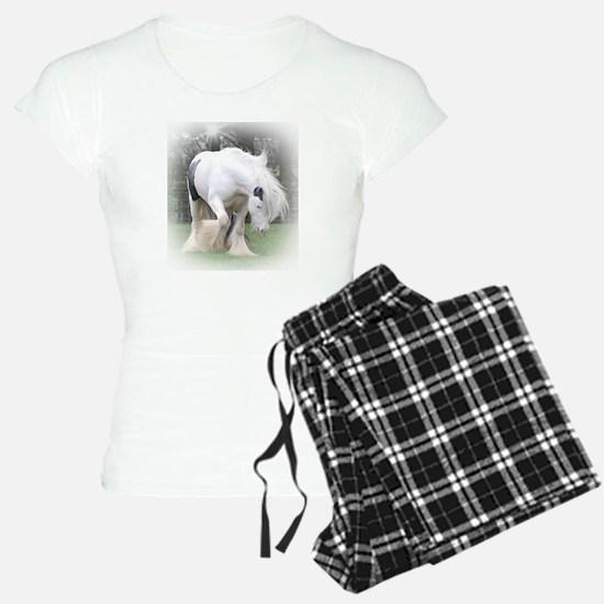 All White Stallion Pajamas