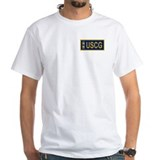 Uscg Mens Classic White T-Shirts