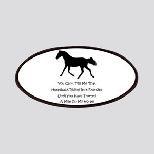 Funny Horse People Humor Patches