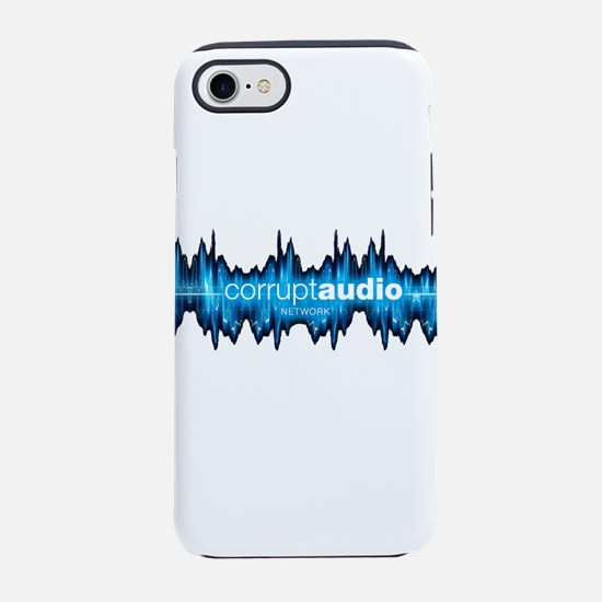Corrupt Audio Network Logo iPhone 7 Tough Case
