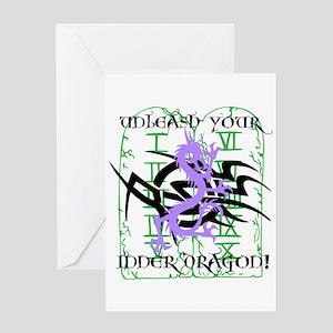 Dragon Unleashed Greeting Card