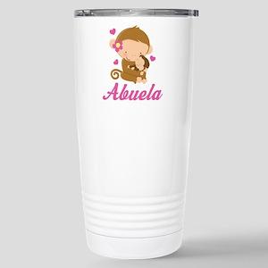 Abuela Monkeys Gift Stainless Steel Travel Mug