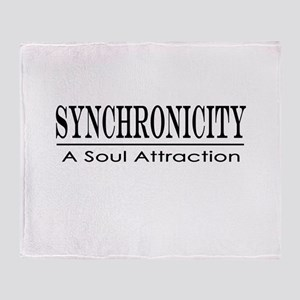 Tolle Synchronicity Throw Blanket