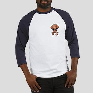 Pocket Vizsla Baseball Jersey