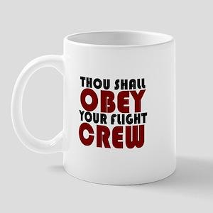 OBEY (red) Mug