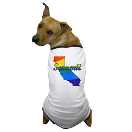 Summit, California. Gay Pride Dog T-Shirt