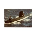 USS GUDGEON Rectangle Magnet