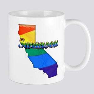 Swansea, California. Gay Pride Mug