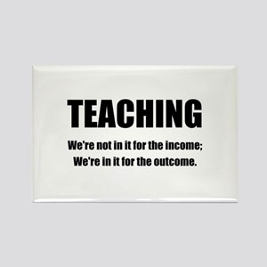 Teacher Outcome Rectangle Magnet (10 pack)