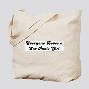 Loves Sao Paulo Girl Tote Bag