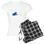 Twin A Flying Bird Women's Light Pajamas