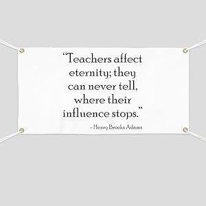 Teacher Eternity Banner