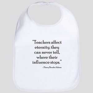 Teacher Eternity Bib