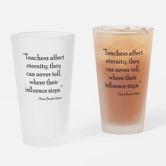 Teacher Eternity Drinking Glass