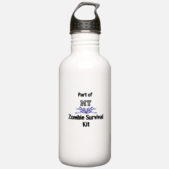 Zombie Survival Kit Water Bottle