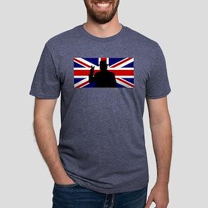 Winston Churchill Victory Mens Tri-blend T-Shirt