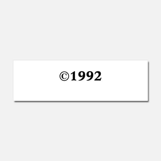 1992 Car Magnet 10 x 3